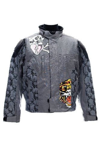 edhardy veste textile ed hardy piston skull taille xxl sport automobile vestes. Black Bedroom Furniture Sets. Home Design Ideas