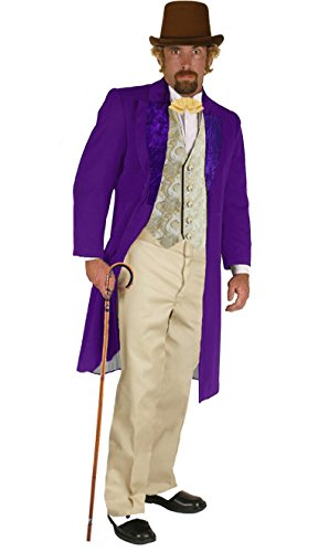 Willy Wonka Famous Character Costume Adult