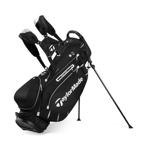 TaylorMade PureLite Stand Bag, Black