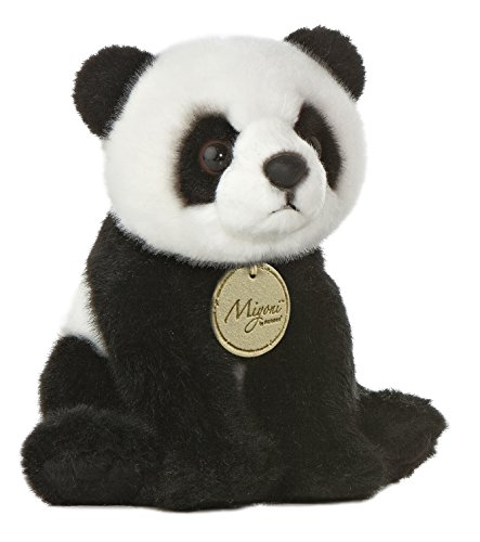 Aurora World Miyoni Panda Bear Plush, 8""