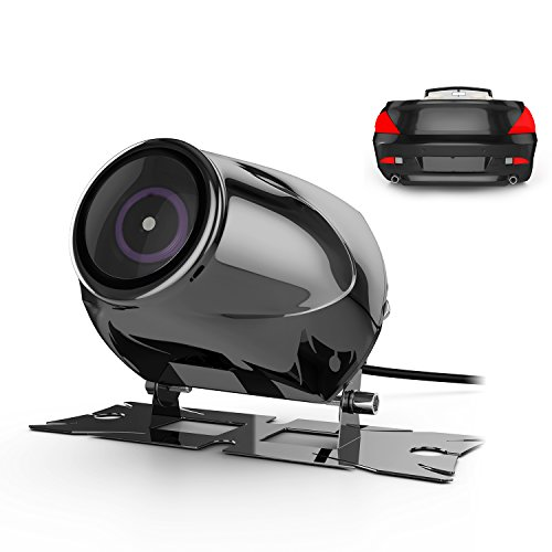 Car Rear View Camera Vehicle Backup Cameras with Waterproof High Definition 170 Degrees Wide Angle Shockproof Night Vision, GOGO ROADLESS Stainless Truck Car Rearview Camcorder Cameras (Camera Car Reverse compare prices)
