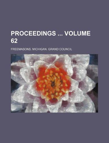 Proceedings  Volume 62