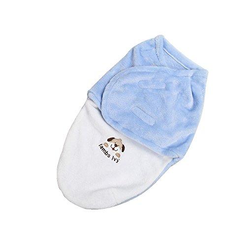 Harson&Jane premio qualità bambino esposto le lenzuola morbide è coperta di copertura (50×32 cm, Blu)