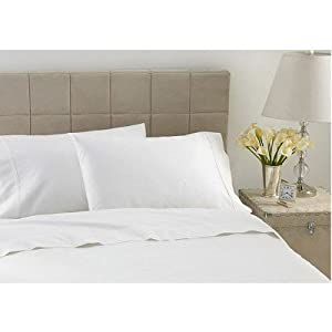 600TC Hotel Luxury Collection Ivory Sheet Set - Queen