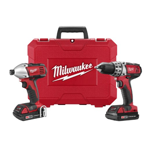Milwaukee 2691-22 18-Volt Compact Drill and Impact Driver Combo Kit photo