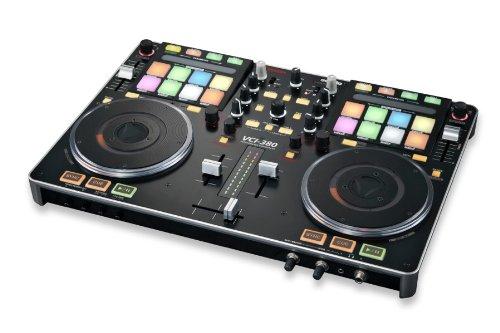 Vestax DJコントローラー VCI-380 Serato DJ/Serato ITCH対応 2チャンネルミキサー内蔵