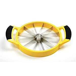 Norpro Grip-EZ Melon Slicer, Yellow