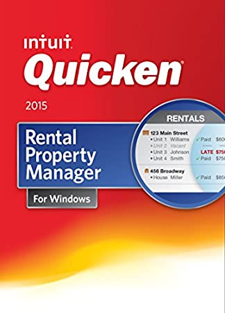 Quicken Rental Property Manager Personal Finance & Budgeting Software 2015