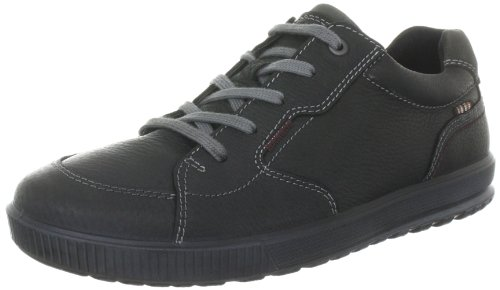 Ecco Bradley Black/Dark Shadow Quarry/Suede Lace-Ups Mens Black Schwarz (BLACK/DARK SHADOW) Size: 13 (47 EU)