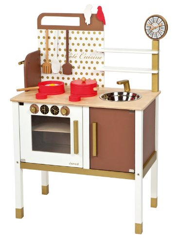 Janod - 06520 - Wooden Toy Kitchen