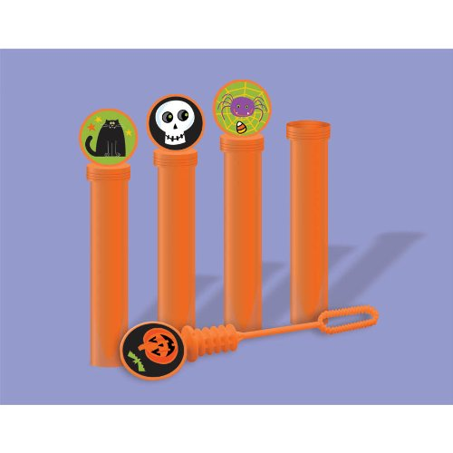 Halloween Bubble Tubes (4-Pack) - 1