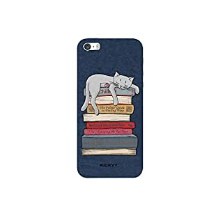 RICKYY _ip5S_ 1266 Printed matte designer New Ways to Relax case for Apple iPhone 5s