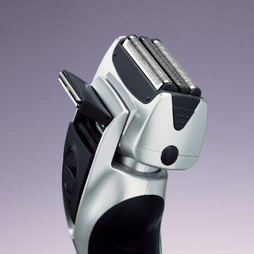 Imagen de Panasonic ES-RT51-S 3-Blade nanotecnología para mojado / seco máquina de afeitar recargable, Plata