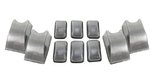Recon 264160CL Clear Cab Roof Lights 2002-2006 Hummer H2 / AM General (10-Piece Set)