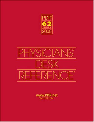 2008 Physicians' Desk Reference (Library/Hospital Version)