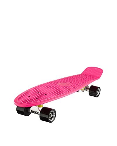 Ridge Skateboards Skateboard Big Brother Cruiser Fucsia/Nero