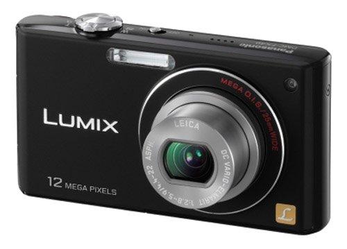 Panasonic Lumix FX40 Digital Camera - Black (12.1MP, 5x Optical Zoom) 2.5 inch LCD