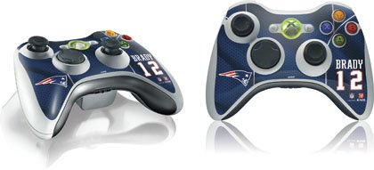 Skinit Tom Brady - New England Patriots Vinyl Skin For 1 Microsoft Xbox 360 Wireless Controller Picture