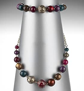 Assorted Bead Stacker Bracelet