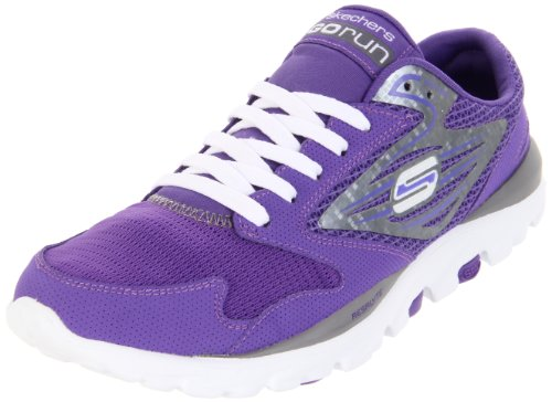 Skechers Women's Go Run Sports Shoes - Fitness 13500 Pur Pur 8 UK