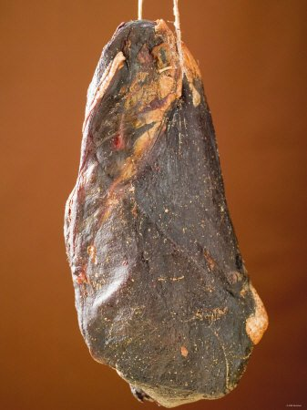 Smoked Venison Ham