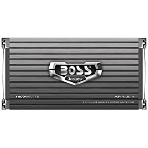 BOSS AR1600.4 - Amplificador de audio (4.0, 400W, 0,01%) Gris