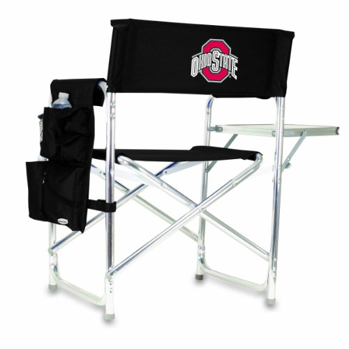 NCAA Ohio State Buckeyes Portable Folding Sports Chair, Black at Amazon.com
