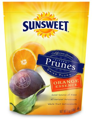 Sunsweet Orange Essence Pitted Prunes 7 oz (Pack of 3)