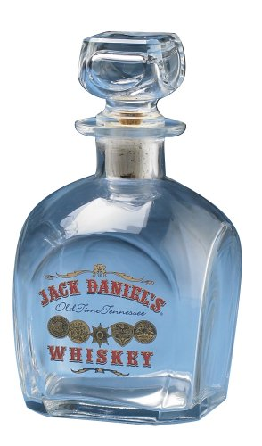 Jack Daniel's Gold Medals Glass Decanter