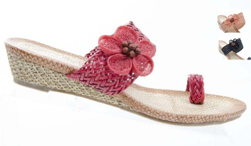 Funky Wedge Sandals front-993668