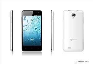 """MUNDIAL SMARTPHONE - Smart 1 4.5 """"HD Android 4.2 Quad Core 1.2 GHz, Dual SIM, 8 M píxeles, 1 GB de RAM, 4 GB de memoria interna, microSD hasta 32GB 4 casos, Negro, Blanco, rosado y azul de 2 años de garantía..."""