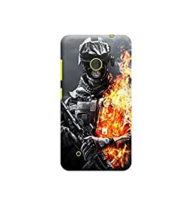 EPICCASE Premium Printed Back Case Cover With Full protection For Nokia Lumia 530 (Designer Case)