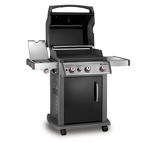 Weber 46810001 Spirit E330 Liquid Propane Gas Grill Black New | eBay
