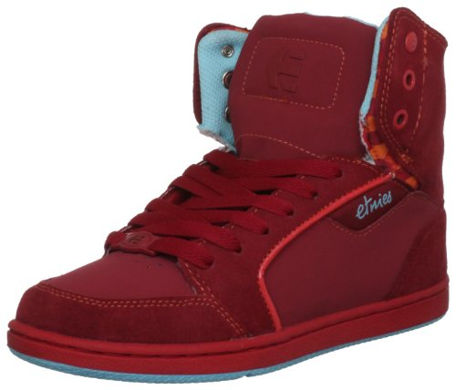 Etnies Women's Woozy Red Casual Lace Ups 4201000280 5 UK, 7.5 US