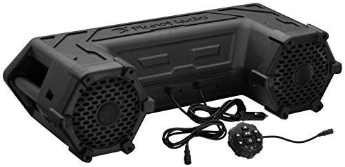 Planet-Audio-PATV65-Powersports-Plug-and-Play-Audio-System-with-Weather-Proof-65-Inch-Component-Speakers-Built-in-450-Watt-Amp-and-LED-Light-Bar