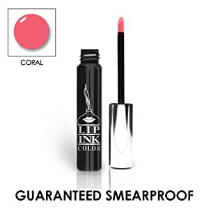LIP INK® LIP INK Organic Vegan 100% Smearproof Liquid Lip Stain, Coral
