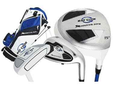 Ray Cook Golf Manta Ray Junior 5-Piece Golf Complete Set with Bag, Right Hand, Steel, Regular (Cook Golf compare prices)