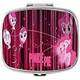 Pinkie Pie Different Poses My Little Pony Unique Custom Design Pill Box Medicine Tablet Organizer Dispenser Case