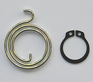 Door Handle Spring Repair Kit (six 2.5-turn, 2.5mm thick coils plus six circlips)