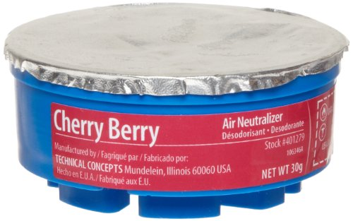 Rubbermaid Commercial Fg4012791 Refill For Tc Gel Automatic Air Freshener System, Cherry Berry