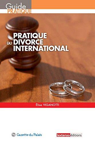 Pratique du divorce international