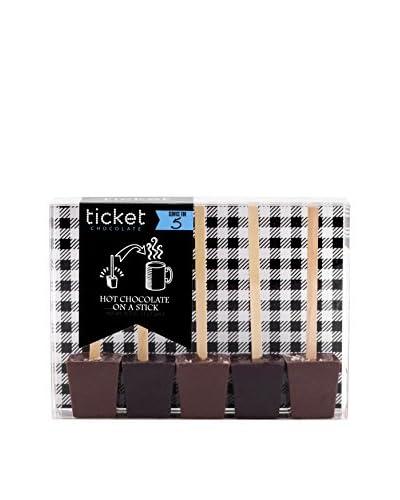 Ticket Chocolate Salted Caramel & French Dark Truffle Hot Chocolate Tasting Pack