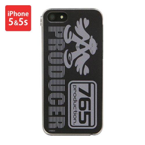 アイドルマスター iPhone 5s/5 対応 ジャケット MIM-02BK プロデューサー仕様