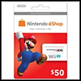 Nintendo Eshop Prepaid Card $50 for 3ds or Wii U thumbnail