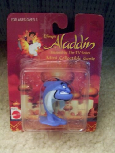 Buy Low Price Mattel Disney's Aladdin Mini Collectible Genie Figure (B0044ND0WE)