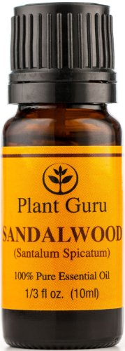 Sandalwood (Australian) Essential Oil. 10 Ml. 100% Pure, Undiluted, Therapeutic Grade.