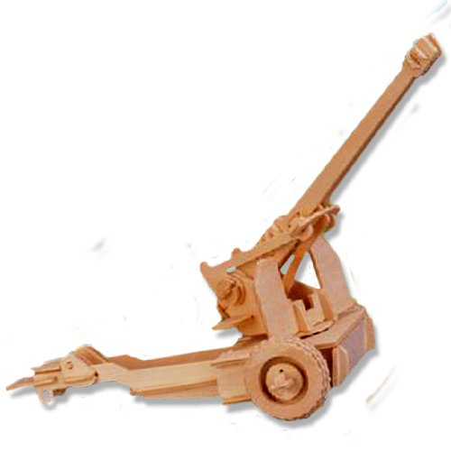 3-D Wooden Puzzle - Cannon Model -Affordable Gift for your Little One! Item #DCHI-WPZ-P062 - 1