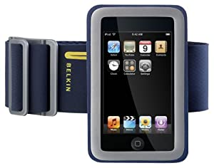 Belkin Sport Armband Plus with FastFit for iPod touch 1G, iPhone 1G (Blue)