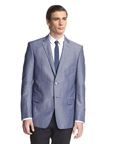 Versace Collection Men's Chambray Sportcoat