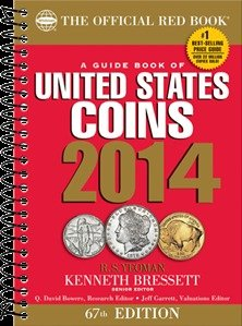 The Official 2014 Red Book - Guide to U.S. Coin Values - Spiral Bound
